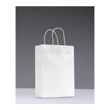 No.305 White Kraft Paper Bag With Twisted Handle