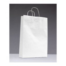 No.480 White Kraft Paper Bag With Twisted Handle