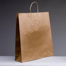 No.500 Brown Kraft Paper Bag With Twist Handle