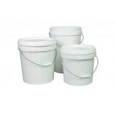 Natural Bucket; Okka with lid 5kg