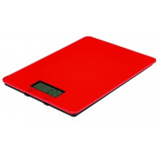 Digital Kitchen Scales 5.0kg Red
