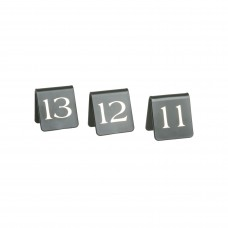 Table Numbers; 11-20 A Frame plastic