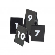 Table Numbers; 21-30 A Frame plastic