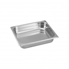 Gastronorm Pan; stainless steel 1/2 size 65mm deep