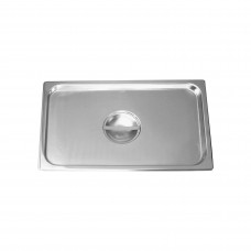 Gastronorm Steam Pan Cover; stainless steel 1/1 size