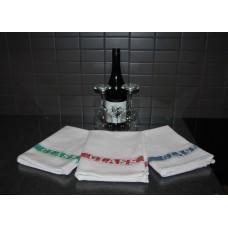 Glass Cloths; 450 x 760mm printed stripe