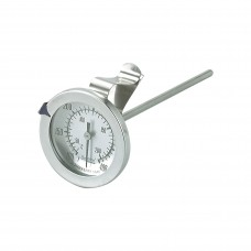 Thermometer; deep fryer & candy