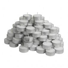 Tealight Candles; 100pk 4hour