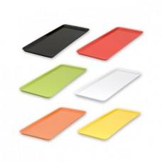 Platter; Ryner melamine rectangular white 390x150mm