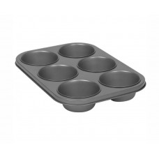 Muffin Pan; Texas 6 cup 250ml per cup