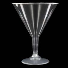 Plastic Martini Glasses; 6 x 6pk/ctn 36/ctn