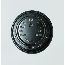 Lids; for coffee cups 12/16oz black 20 x 50pk/ctn 1000/ctn