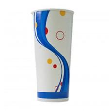 Paper Cup; 22oz cold drink alfresco 20 x 25pk/ctn 500/ctn