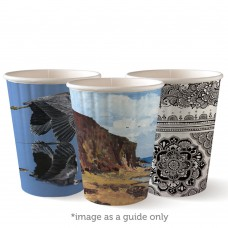 Coffee Cups; single wall 12oz Art Series 1000/ctn