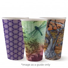 Coffee Cup; Biocup Art Series double wall 16oz 600ctn
