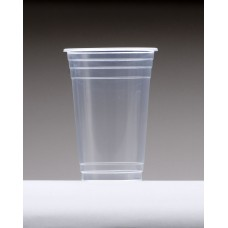 18oz (540ml) Clear Plastic Cups - 50 per pack, 1000/ctn