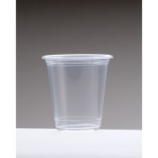 8oz (240ml) Clear Plastic Cups - 1000 per carton