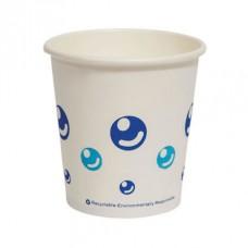 6oz Paper Cup with Bubble Print - 1000 per carton