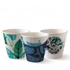 Coffee cup; Biocup Art Series 80mm double wall 8oz 1000ctn