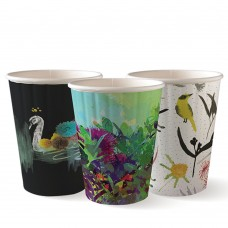 Coffee Cup; Biocup Art Series double wall 12oz 1000ctn