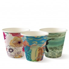 Coffee Cup;  Biocup Art Series single wall 8oz 1000ctn