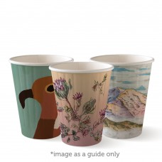 Coffee Cup; Biocup Art Series Double Wall 8oz 90mm OLFA