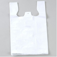 Carry Bags; super jumbo white heavy duty 100/pkt 500ctn