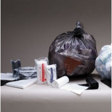 73L Black Extra Heavy Duty Garbage Bags on a Roll 25/roll 250/ctn