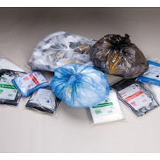 120L Clear Garbage Bags HDPE - 100 per carton