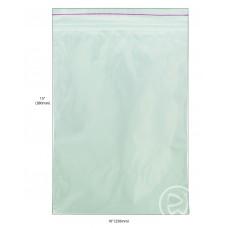 """Reseal Plastic Bags; 15 x 10"""" 380 x 250mm 5 x 100pk/ctn 500/ctn"""