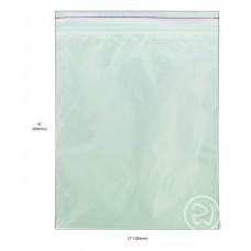 """Reseal Plastic Bags; 16 x 12"""" 400 x 300mm 5 x 100pk/ctn 500/ctn"""