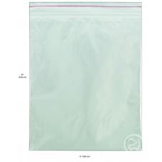 """Reseal Plastic Bags; 20 x 15"""" 508 x 380mm 5 x 100pk/ctn 500/ctn"""