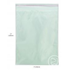 """Reseal Plastic Bags; 13 x 9"""" 330 x 230mm 10 x 100pk/ctn 1000/ctn"""