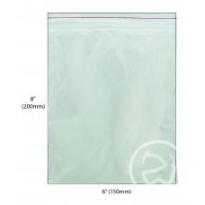 """Reseal Plastic Bags; 8 x 6"""" 200 x 150mm 10 x 100pk/ctn 1000/ctn"""