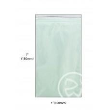 """Reseal Plastic Bags; 7 x 4"""" 180 x 100mm 1000/ctn"""