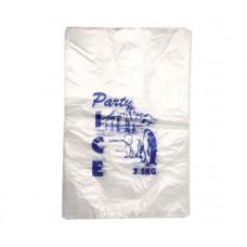 3.5kg Plastic Ice Bags 500 per pack, 2000 per carton