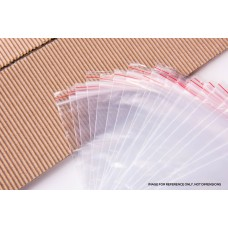 "Reseal Plastic Bags 50um 1.5x1.5"" 35x40mm 10x100pk"