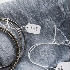 Strung Merchandise Tags; 13AH 17x7mm 1000pk