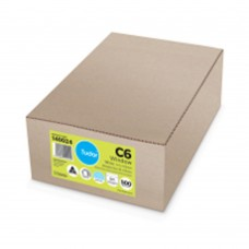Envelope; C6 114x162 window face 500/box