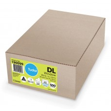 Envelope; window face preseal DL 110x220 500/box