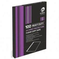 Olympic Sheet Protectors A4 H/Dty 100pk