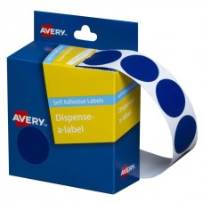 Label Avery 24mm Blue Dot