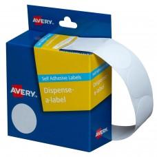 Label Avery 24mm White Dot