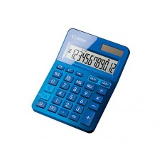 Canon Calculator LS123K 12 Digit Dual Power - Blue