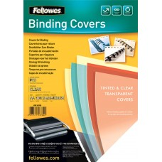 Binding Cover Fellowes A4 Clear